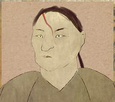 Drawing of Kikuchi Jiro