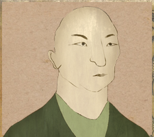 Drawing of Hojo Tokimune