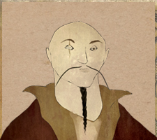 Drawing of Choe Dae Seung